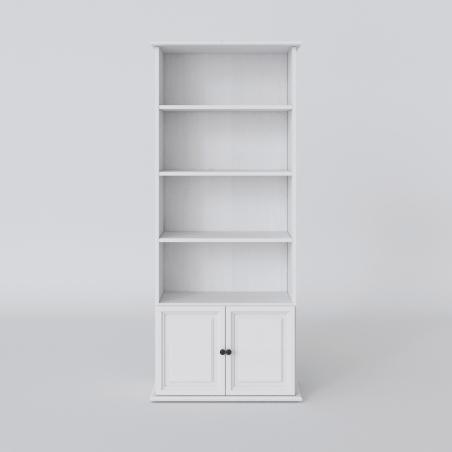Biały regał - 2