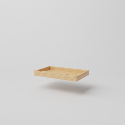 sosnowa szufla do łóżka skandynawskiego - 1