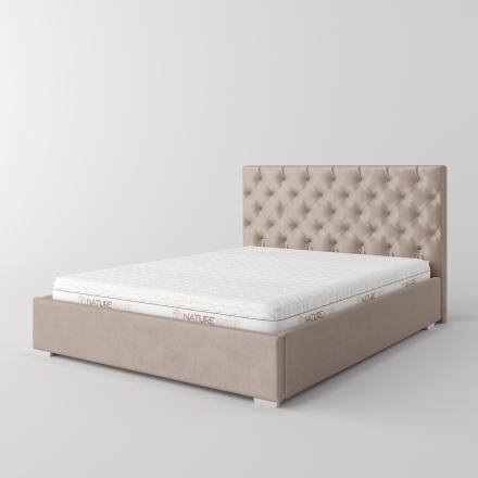 łóżko tapicerowane - 1