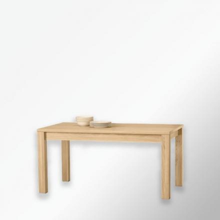 Rozkładany stół dębowy
