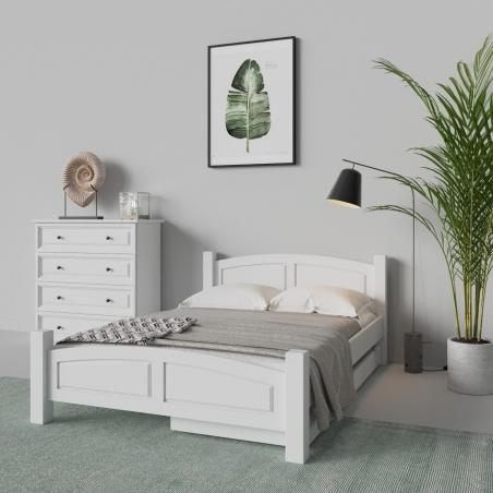 Białe łóżko - 14