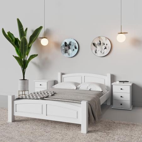 Białe łóżko - 5