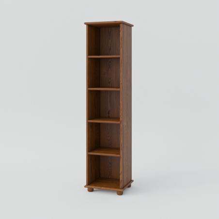 Regał sosnowy - Regały Drewniane