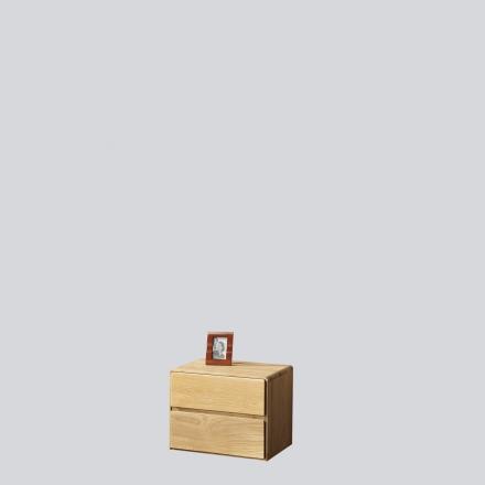 Dębowa szafka nocna - Komody Drewniane