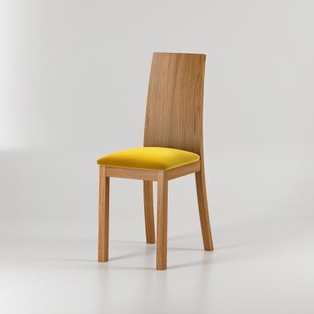 Krzesło dębowe Velvet - 7