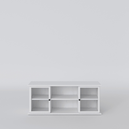 Biała szafka RTV - 2